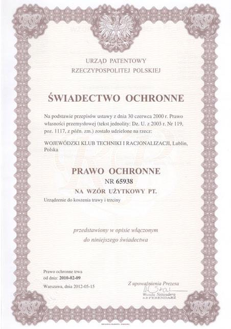 swiadectow-ochronne_ratrak_www.wktir.pl